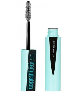 Mascara Total Temptation Waterproof Noir de Maybelline